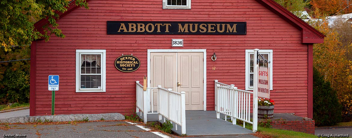 Abbott Museum and Gift Shop in Dexter, Maine