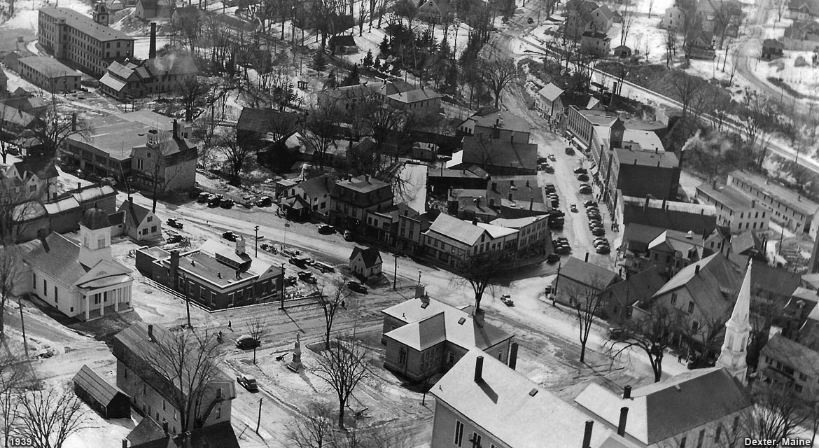 Dexter, Maine during 1939