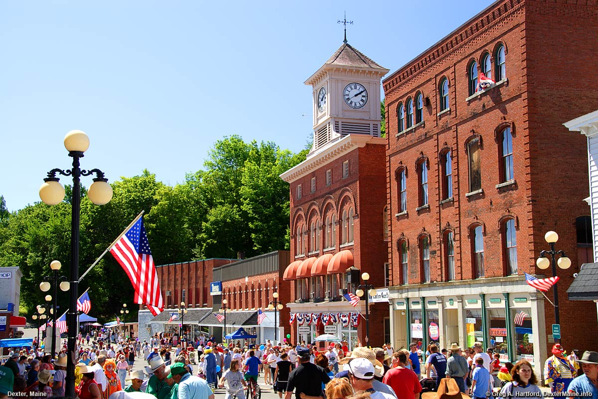 Dexter Days Celebration on Main Street in 2005