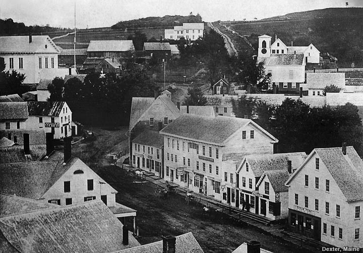 Dexter, Maine in the 1800's