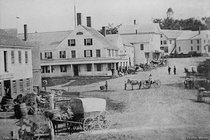 Dexter, Maine during the year 1860